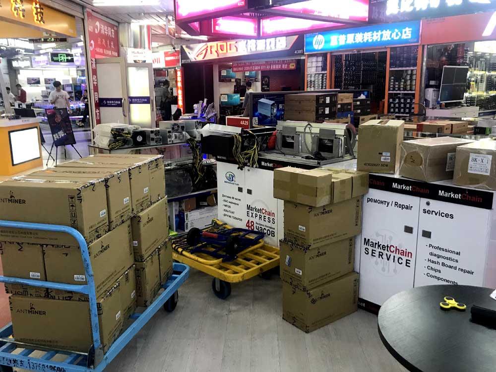 Продано майнеров в Китае