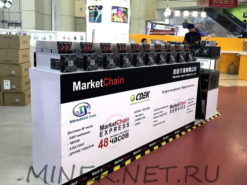 Рейтинг продаж майнеров в Китае